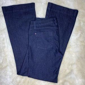 Candie's Dark Wash Flare Jeans Size 7 (juniors)